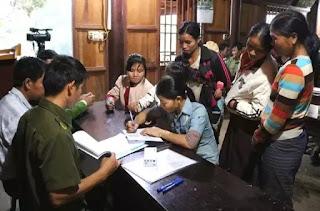 Tuyên truyền giáo dục người dân để ngăn chặn tình trạng thai phụ sang Trung Quốc chờ sinh để bán con ở xã Hữu Kiệm