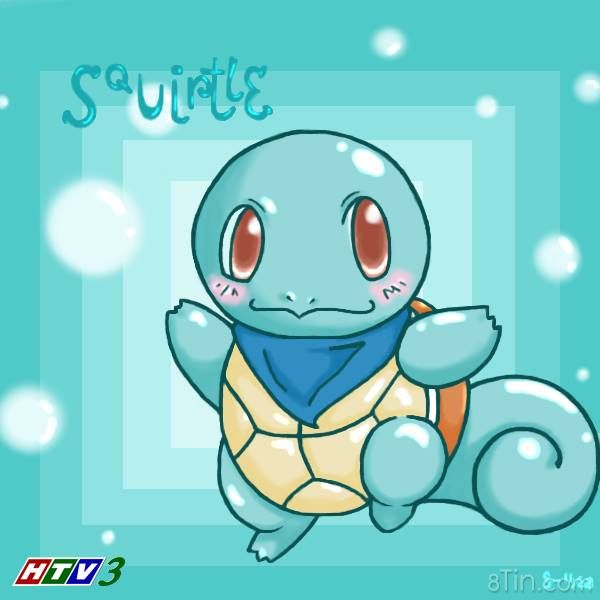 Pokémon Rùa Con 007 ~ Squirtle ~ [Water]  Khi mới sinh