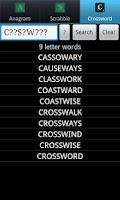 Screenshot of Word Solver