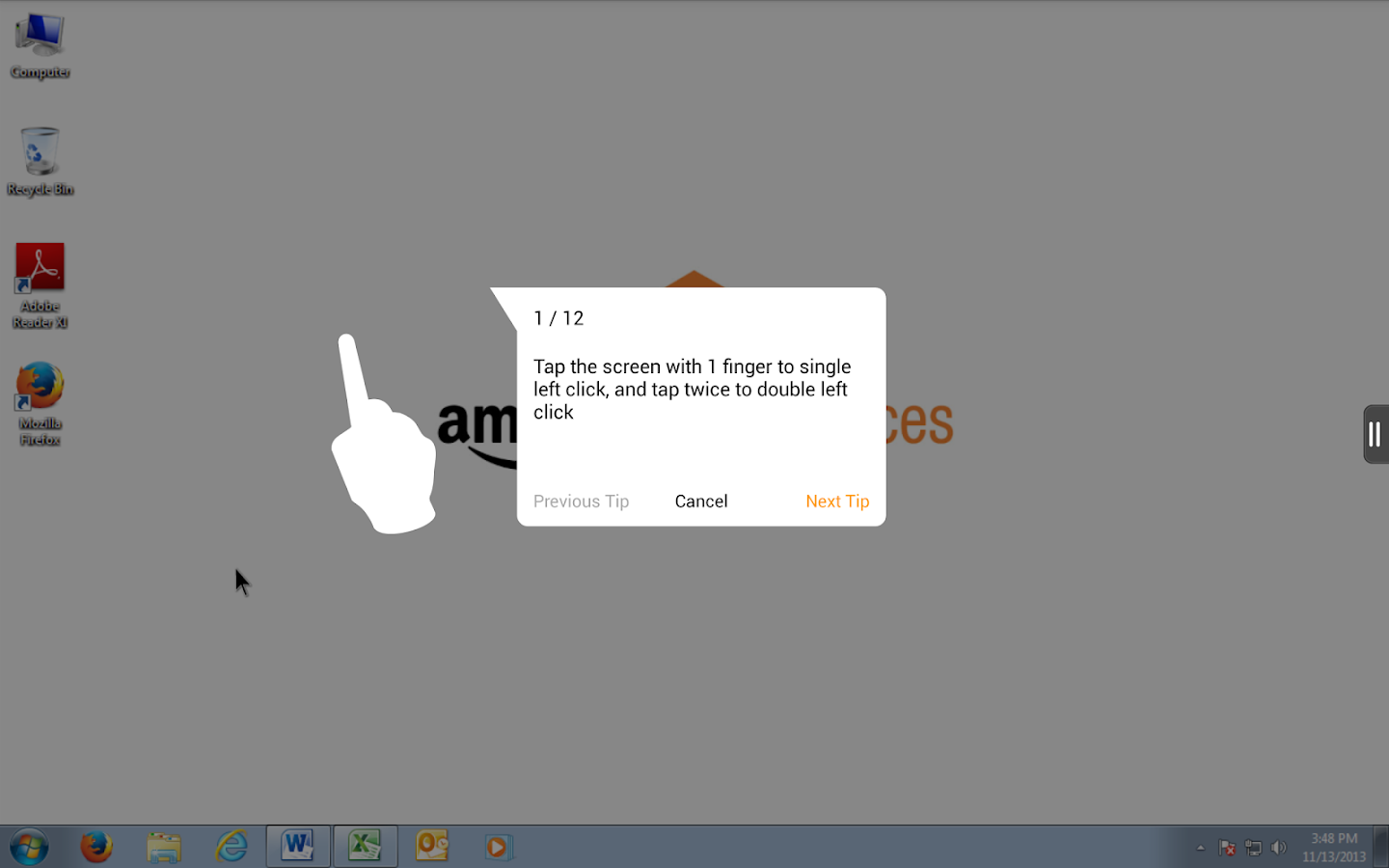 Amazon WorkSpaces- screenshot