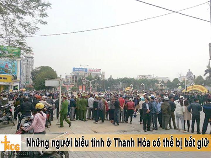 Lúc 22g ngày 432016, nguồn tin từ Sở Công an tỉnh Thanh