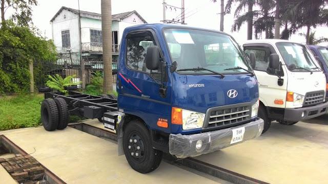 Xe tải 3,5 tấn hyundai HD72 lắp ráp