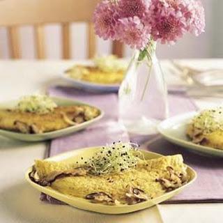 Shiitake Mushroom Omelette