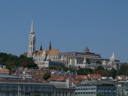 Obiective turistice Ungaria: catedrala Matei Corvin