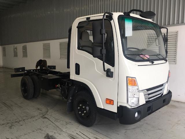 Xe tải Daehan Tera 250 sắt xi