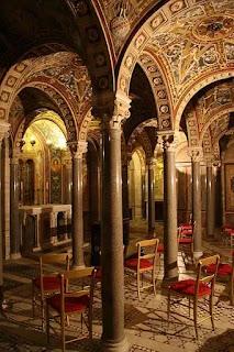 Nhà thờ Thánh Cecilia ở Trastevere.