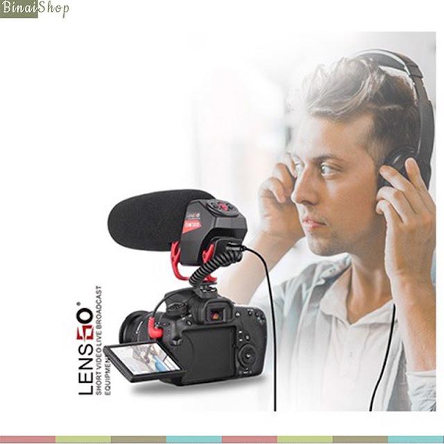 Lensgo LYM-DM30 - Microphone Shotgun