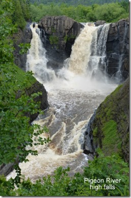 Grand Portage State Park Pigeon River high falls