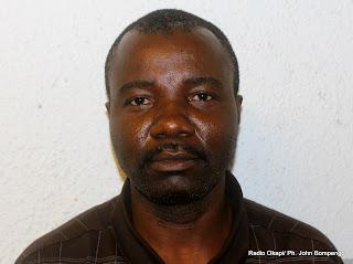 Gauthier Musengi. Radio Okapi/ Ph. John Bompengo