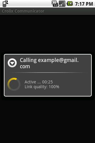 Crolix Communicator - screenshot