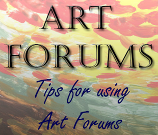art forum tips