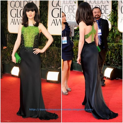 Zooey Deschanel 69th Annual Golden Globe Awards-a