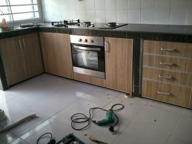 Kabinet Dapur Terus Dari Kilang 2017 08 31