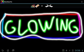 Screenshot of Glow Draw Pro