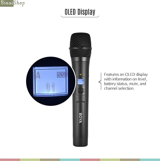 micro phỏng vấn cầm tay không dây UHF