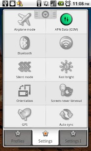 Toggle Settings|Profiles Lite - screenshot thumbnail