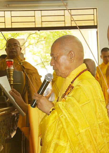 DSC06395 Lễ Hiệp kỵ   Lễ Huý Nhật Cư sĩ Sáng lập viên GĐPT Việt Nam   Tâm Minh Lê Đình Thám