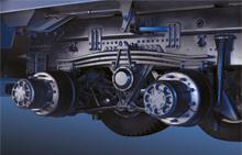 Gầm xe 3 chân Hyundai hd270