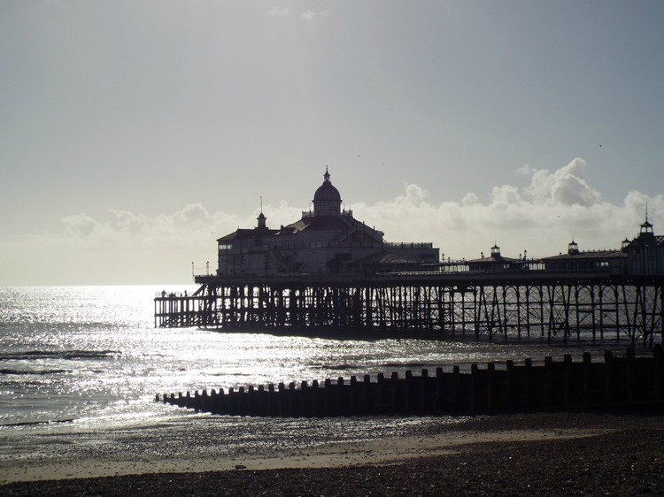 calm after the storm eastbourne pier