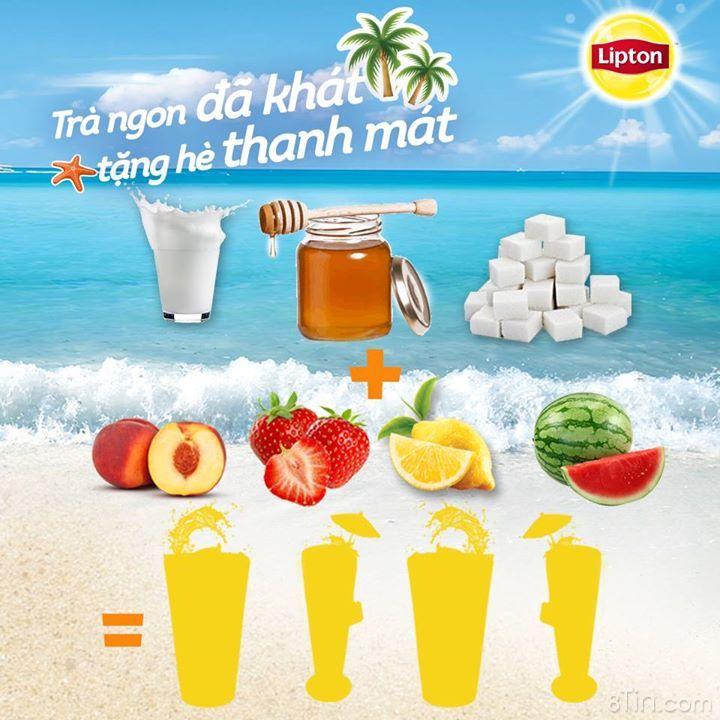 Dưới tiết trời nắng nóng của mùa hè, còn gì đã khát