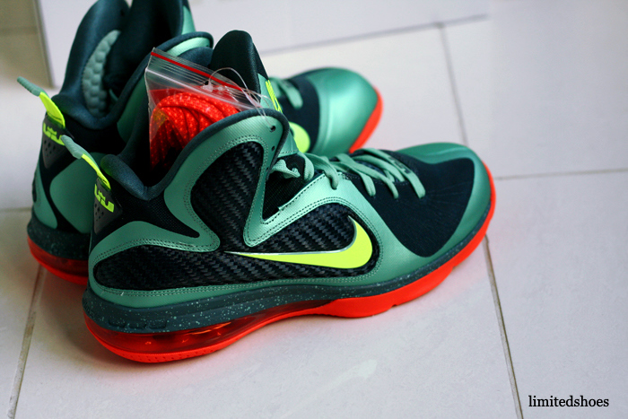 low priced 2d086 28768 ... Nike LeBron 9 8220Cannon8221 aka 8220PreHeat8221 Finally with Decent  Photos