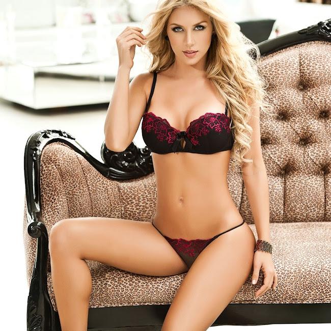 Lina Posada Sexy Fotos Catalogo Besame 2012 Foto 14
