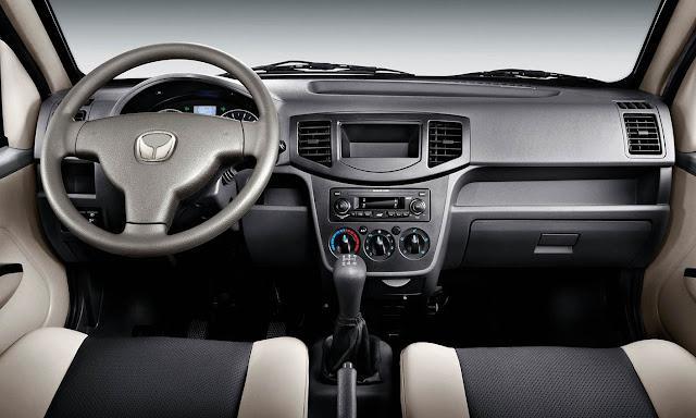 Nội thất xe tải Kenbo 990 Kg thiết kế rộng rãi với nhiều tiện nghi
