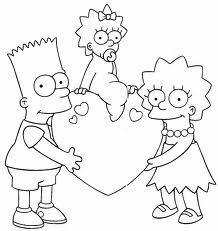 Dibujos Colorear Los Simpsons