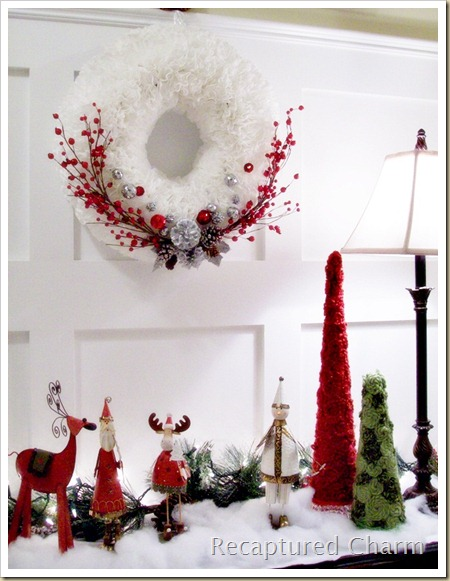 Coffee Filter Christmas Wreath2 046a