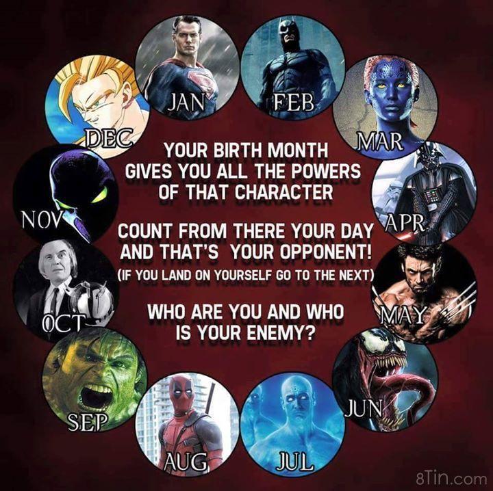 Bạn được thừa hưởng năng lực từ ai :3 ?