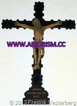 DSC01673 (1) Krucifix Jesus amor meus est crucifixus (1) bättrad med amorism