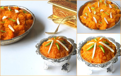 Carrot Halwa-Gajar ka halwa