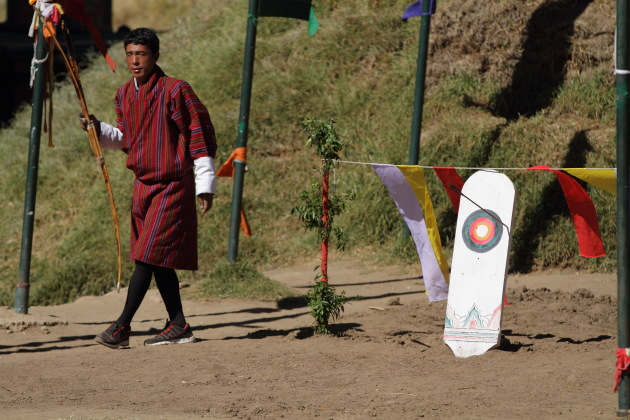 Archery - the national sport of Bhutan