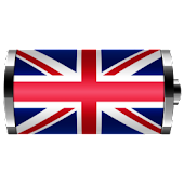 UK: Flag Battery Widget