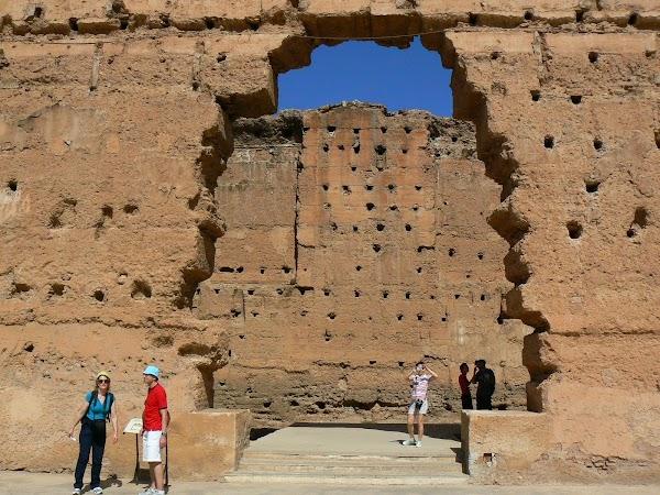 Imagini Marrakech: palatul Badi