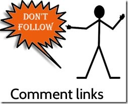 Why should you nofollow comment links