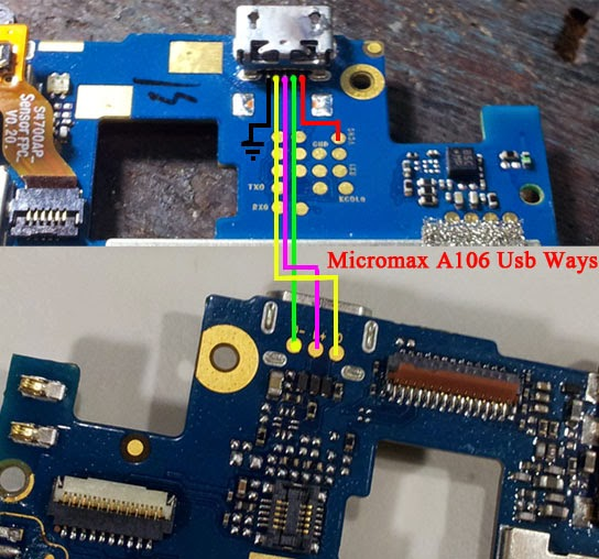 Micromax A106 Usb Ways Charging Solution