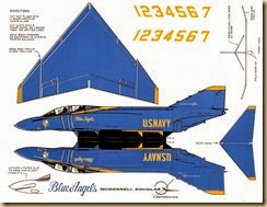 Paper Blue Angels