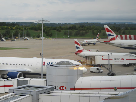 British Airways la Gatwick