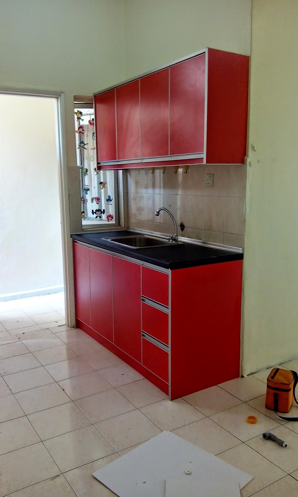 Punye Owner Bernama En Khalid Dn Puan Rina Rumah Ni Beliau Nk Sewakn Je So Diorg Pun Oder Kabinet Dapur Yg Simple