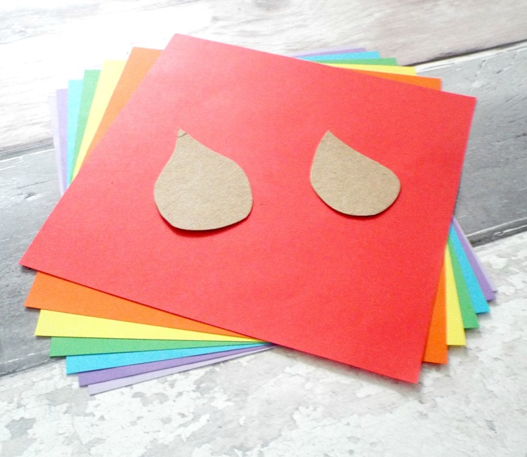 how to make rainbow raindrops supplies