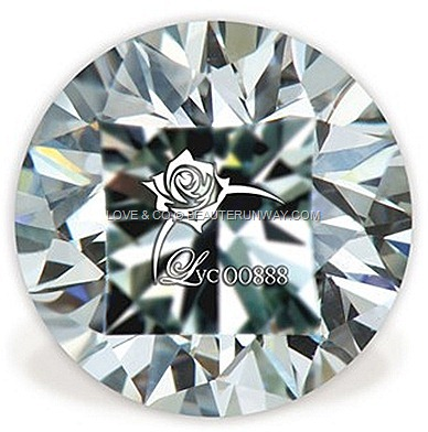 Lovemark diamond Rose hallmark[23]