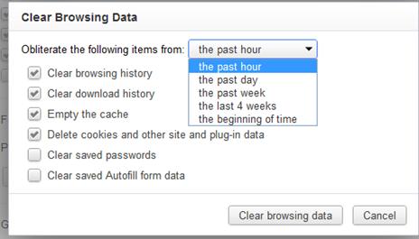 How to delete mega cookie on google chrome