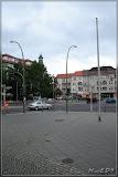 Blick vom Rathaus Lichtenberg in Richtung Parkaue