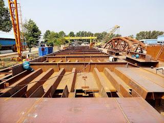 Thép Trung Quốc được chủ đầu tư sử dụng làm van tại một số cống chống ngập dự án 10.000 tỷ đồng.