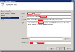 Terence Luk: Monitoring and sending email alerts for Citrix