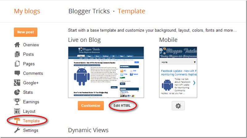 4 amazing new features in blogger template html editor my blogger