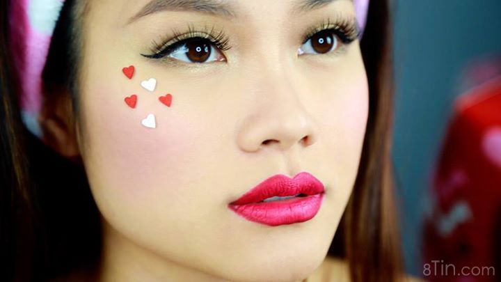 VDAY makeup tutorial: https://www.youtube.com/watch?v=YZb5clkg9c