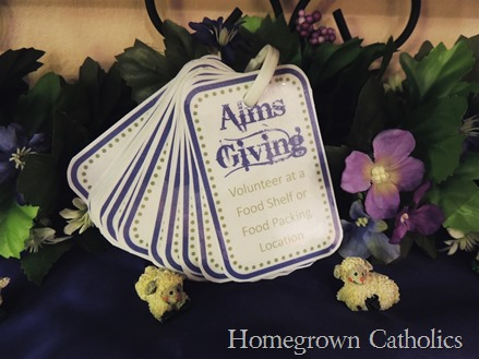 Pray-Fast-Alms Cards