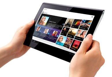 Sony Tablet S Design